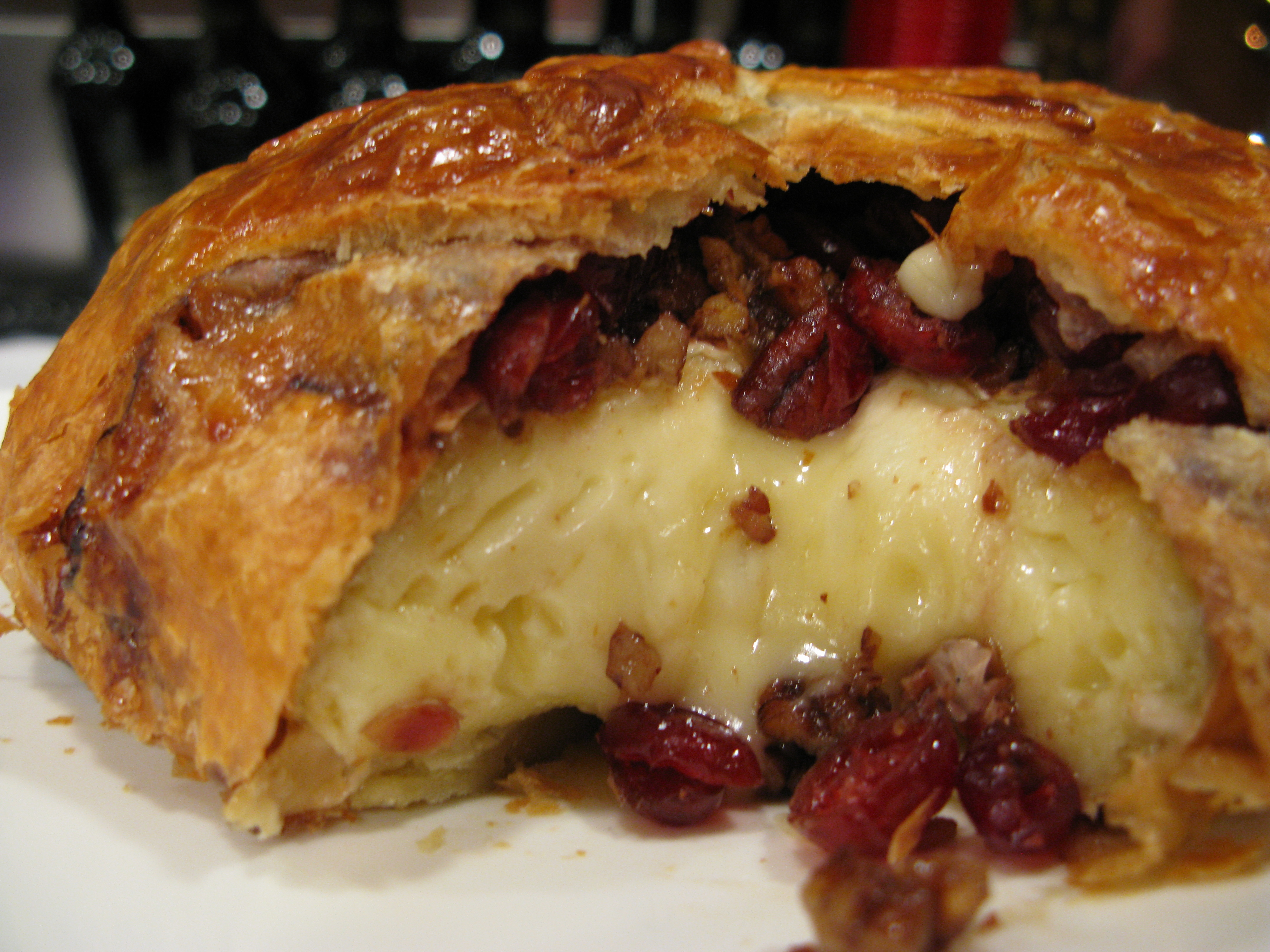 Holiday Brie en Croute with Cranberries, Honey, and Pecans | DION'S ...